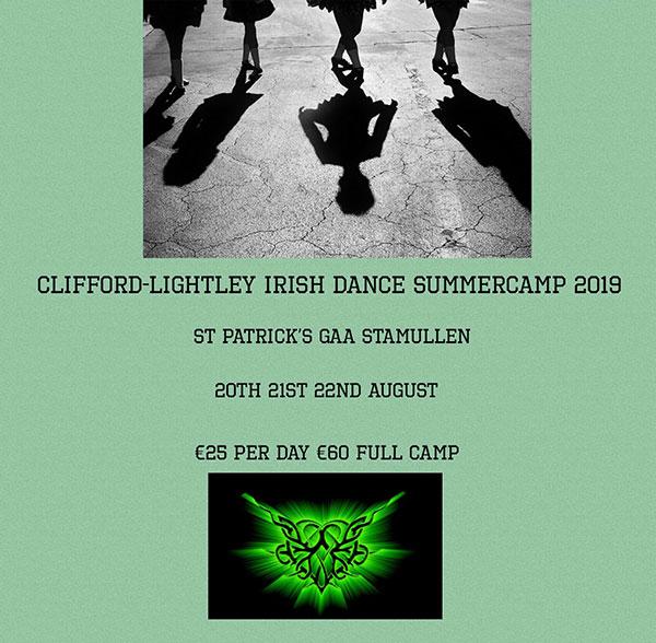 Clifford-Lightley Irish Dance Academy | Children's Summer Camp 2019